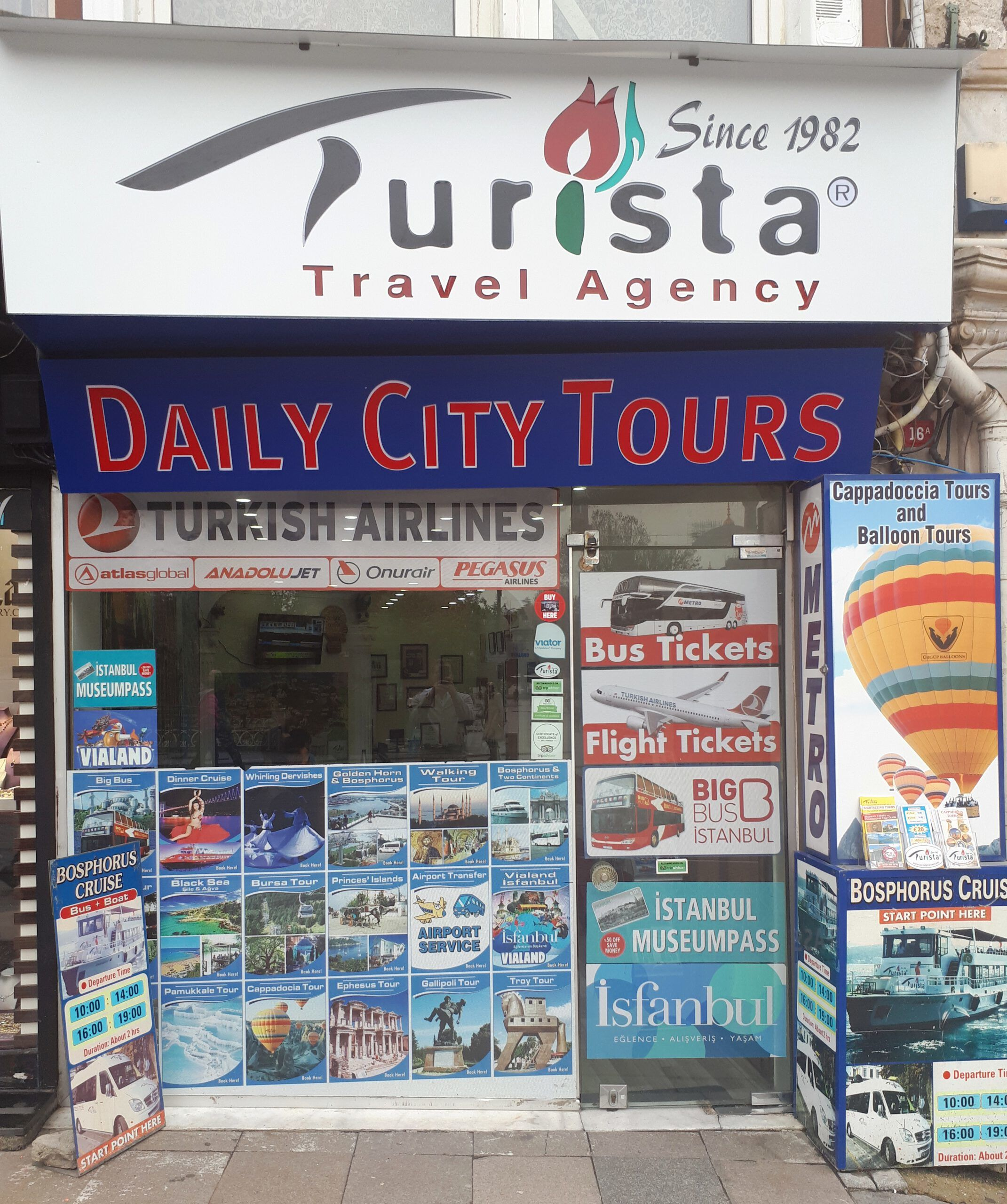 Contact Us; Turista Travel Sales Office